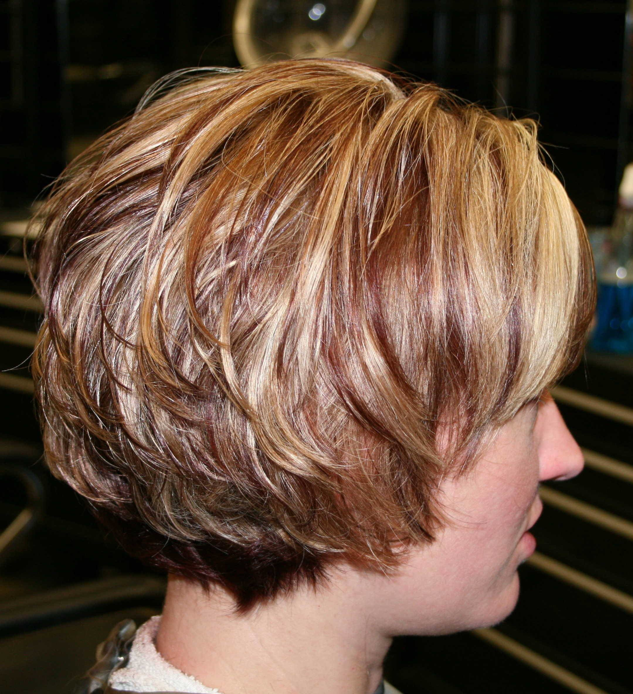 The Best Short Layered Bob Hairstyles Front And Back View New Pictures