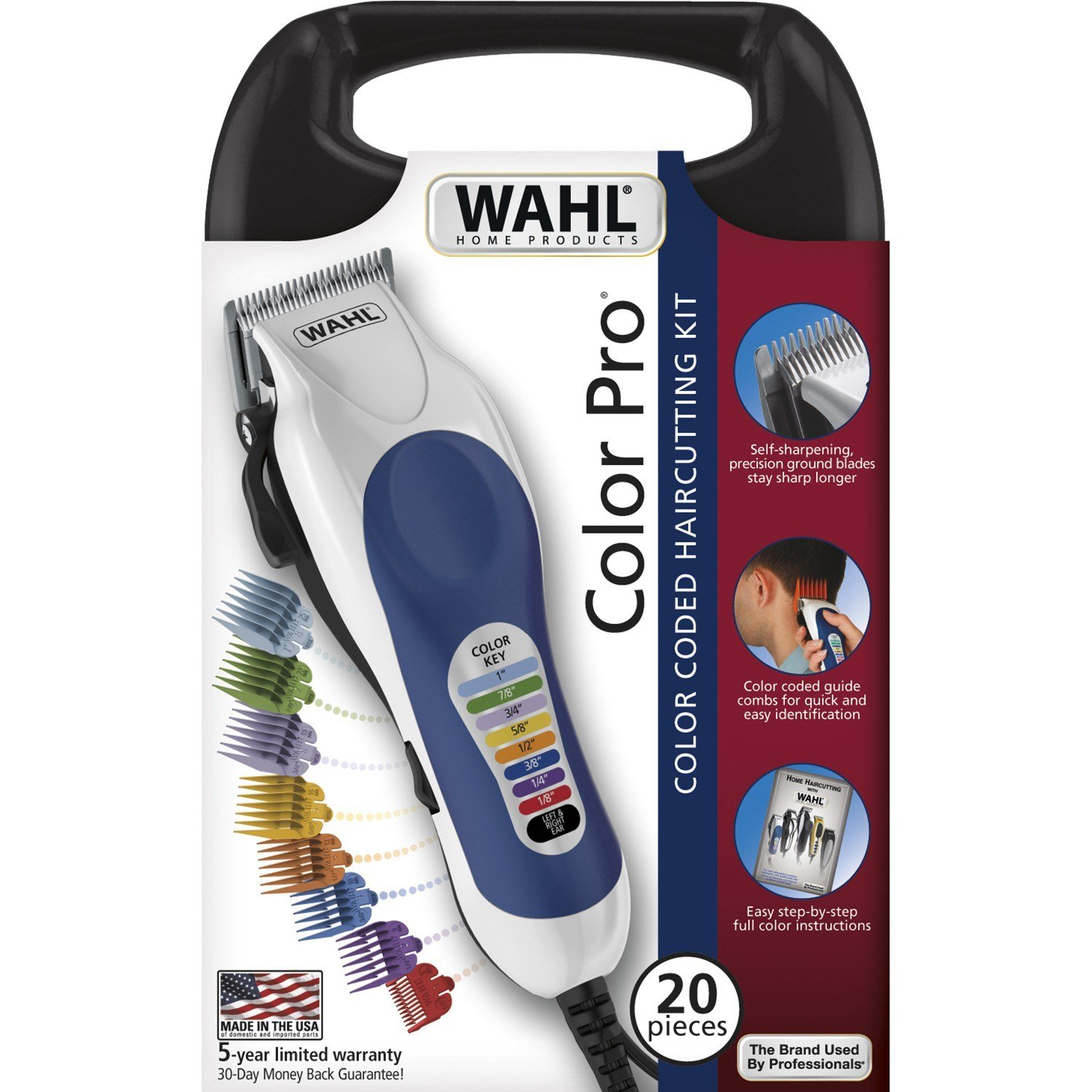 The Best Wahl Haircutting Kit Color Coded Color Pro 1 Kit Rite Aid Pictures
