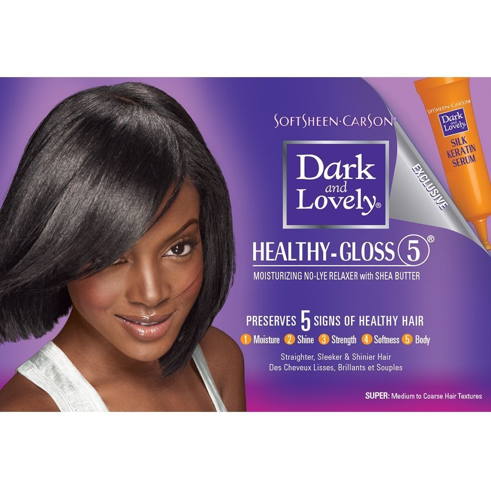The Best Healthy Gloss 5 Shea Moisture Hair Relaxer—Super Dark Pictures