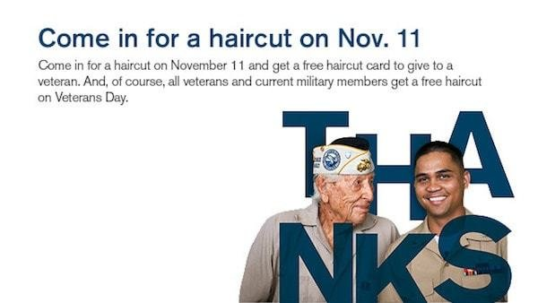 The Best Free Haircuts For Military Members At Great Clips Pictures