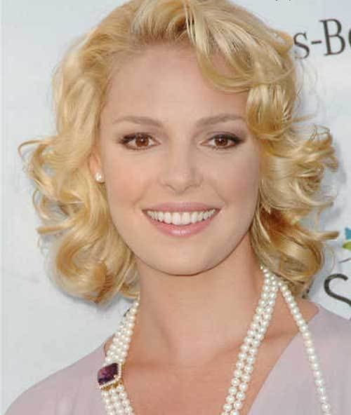 The Best Short Curly Hairstyles For Thin Hair Pictures