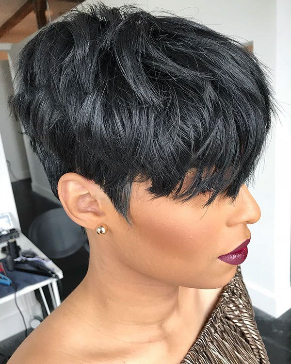 The Best 50 Best Short Haircuts For Black Women 2019 Pictures