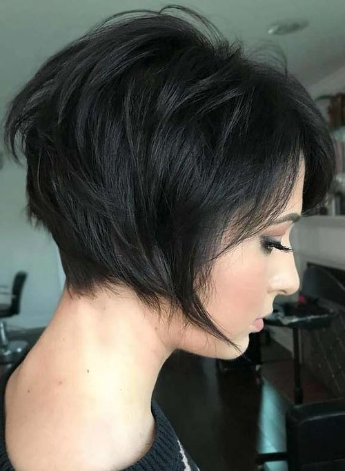The Best 48 Best Short Hairstyles For Thick Hair 2018 2019 Pictures