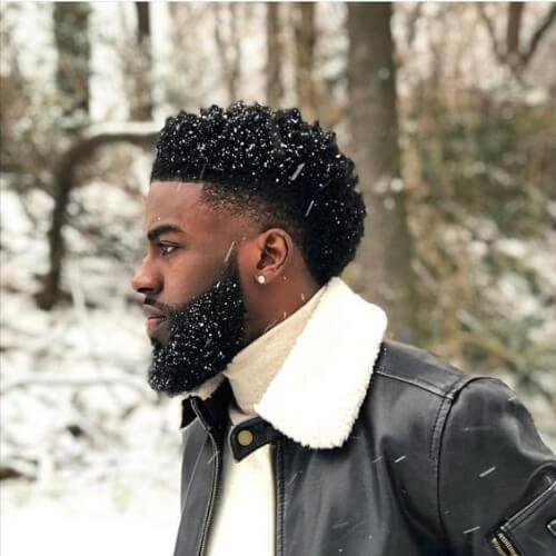 The Best Popular Curly Hairstyles For Black Men Stylendesigns Pictures