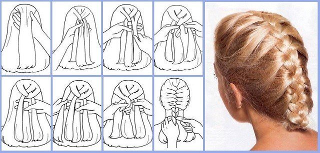 The Best French Braid Step By Step With Pictures And Detailed Pictures
