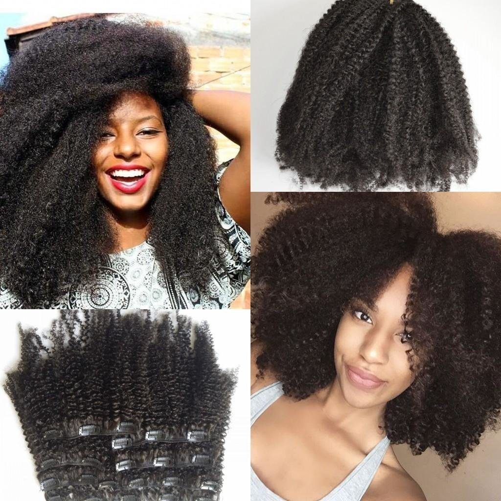 The Best Eurasian Afro K*Nky Curl Clip In Extensions For African Pictures
