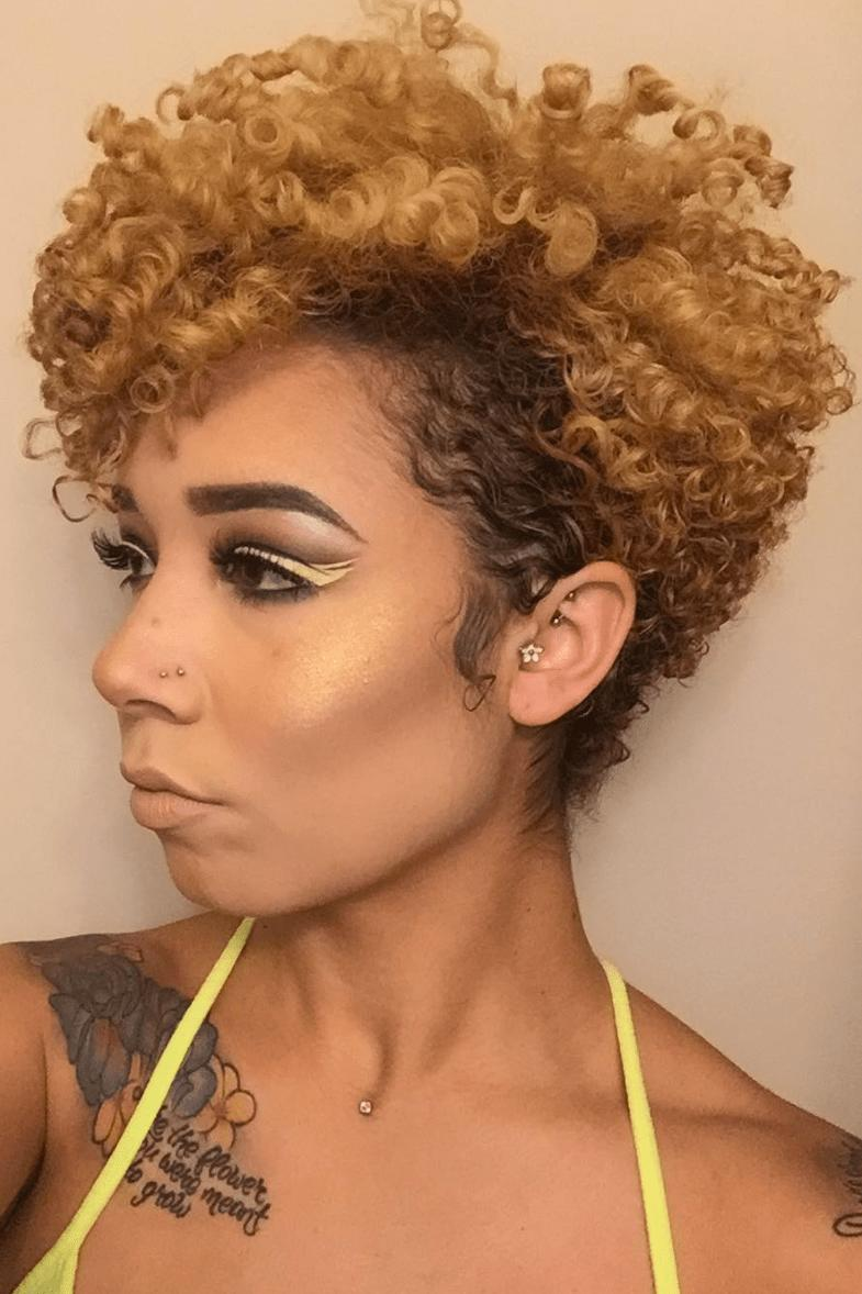 The Best Hairstyle Ideas For Short Natural Hair Essence Pictures