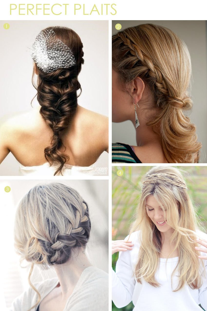 The Best Beauty Braid Hairstyles Exquisite Weddings Pictures