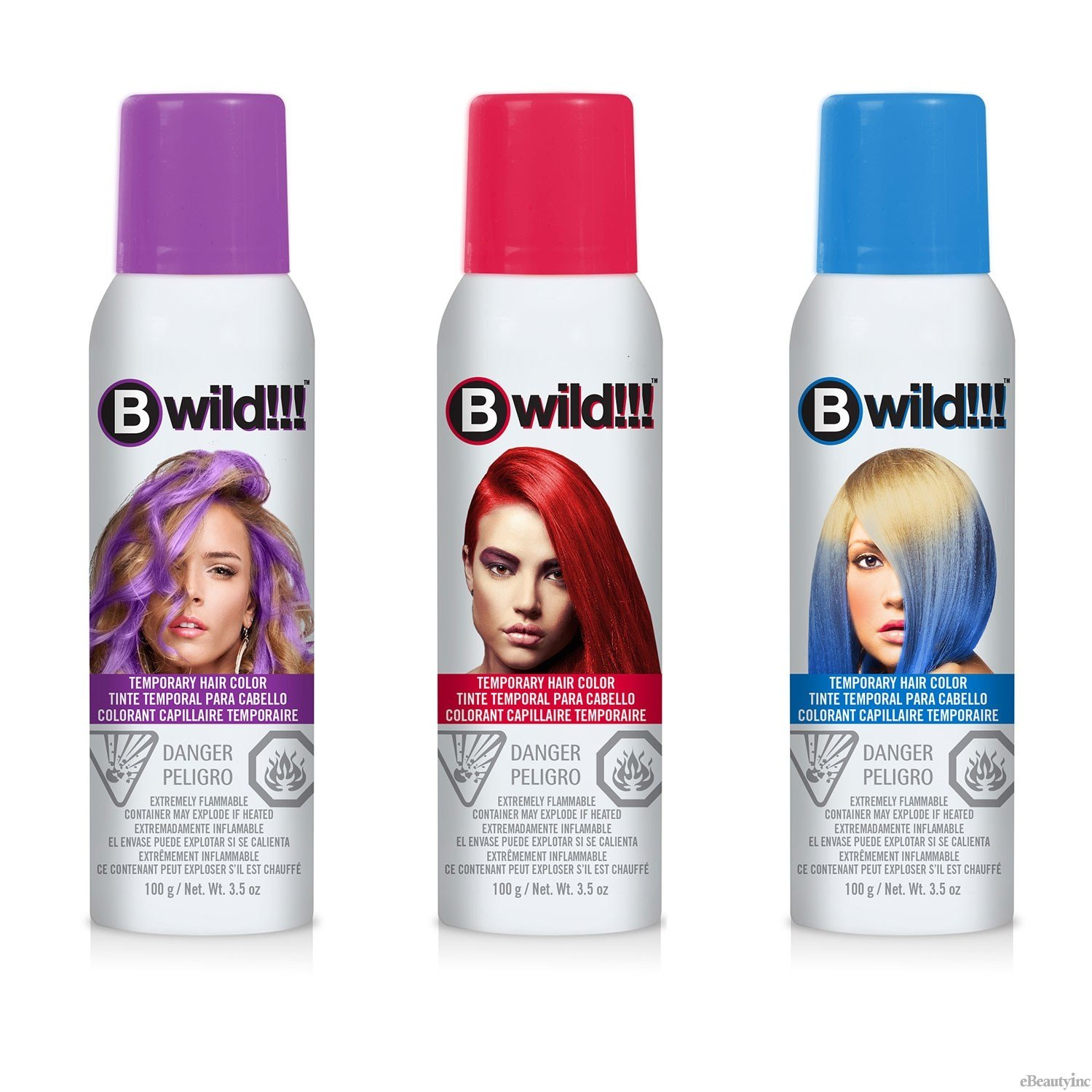 The Best Jerome Russell B Wild Temporary Hair Color Spray Ebay Pictures