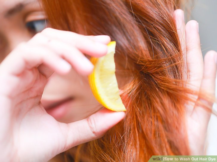 The Best 5 Ways To Wash Out Hair Dye Wikihow Pictures