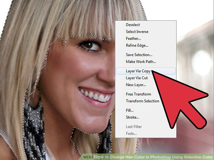 The Best How To Change Hair Color In Photoshop Using Selective Color Pictures