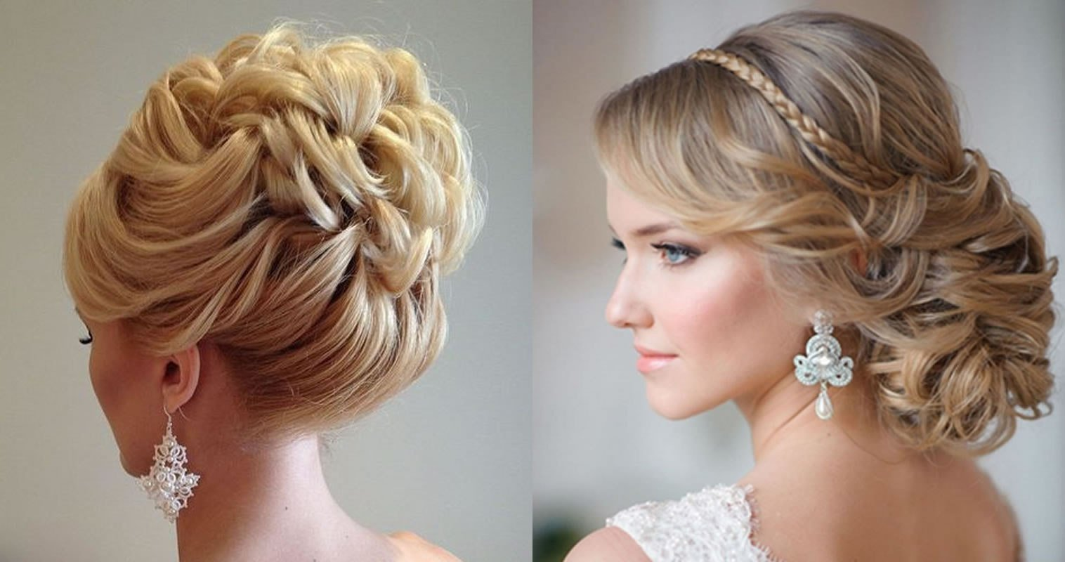 The Best Updo Wedding Hairstyles 2019 Hair Color Ideas For Bride Pictures