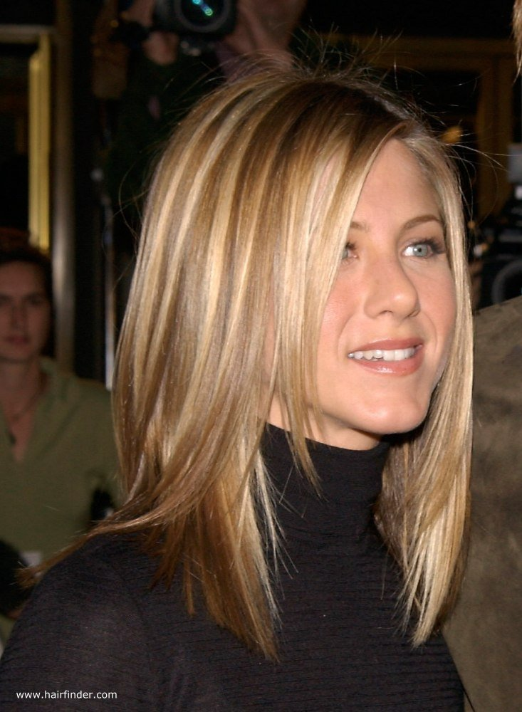 The Best Jennifer Aniston Sleek Ironed Hair With Natural Blended Pictures