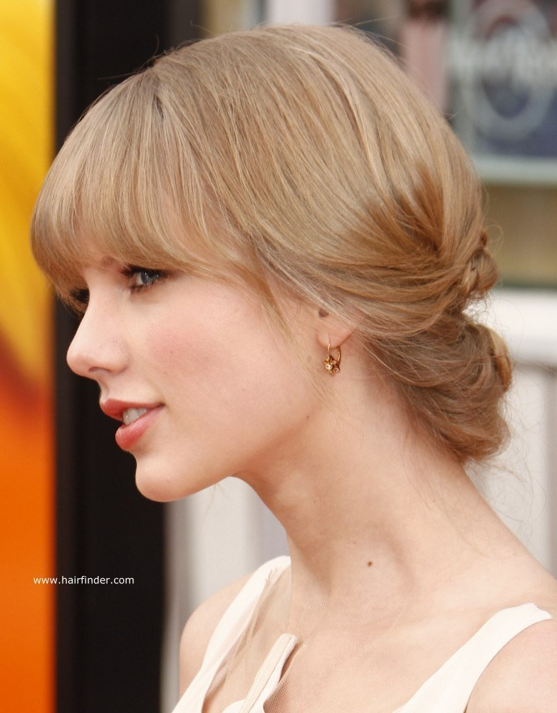 The Best Taylor Swift Hair In A Low Updo For Formal Occasions Pictures