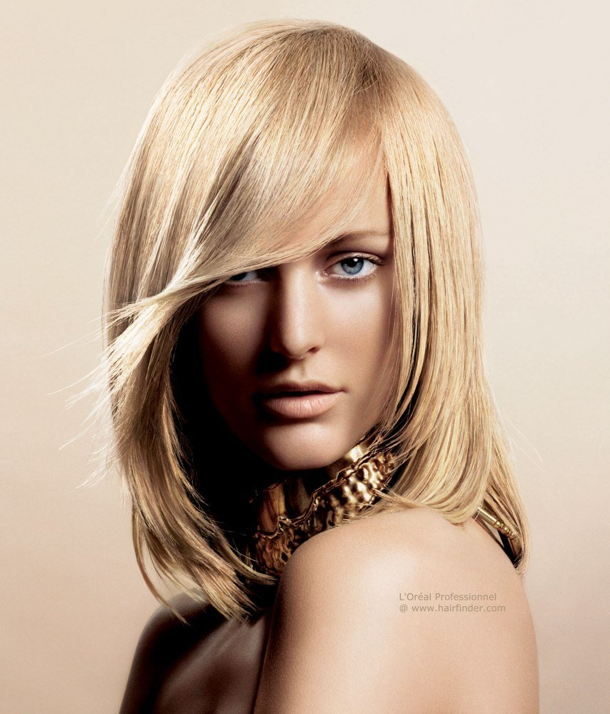 The Best L Oréal Color Hairstyles With Fluid Movement And Soft Shapes Pictures