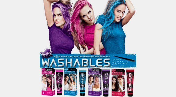 The Best Temporary Hair Color Products That Wash Out Easy Brush On Hair Color Gels And Mousses Pictures