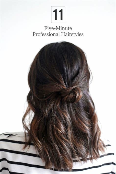 The Best 5 Minute Office Friendly Hairstyles Pictures
