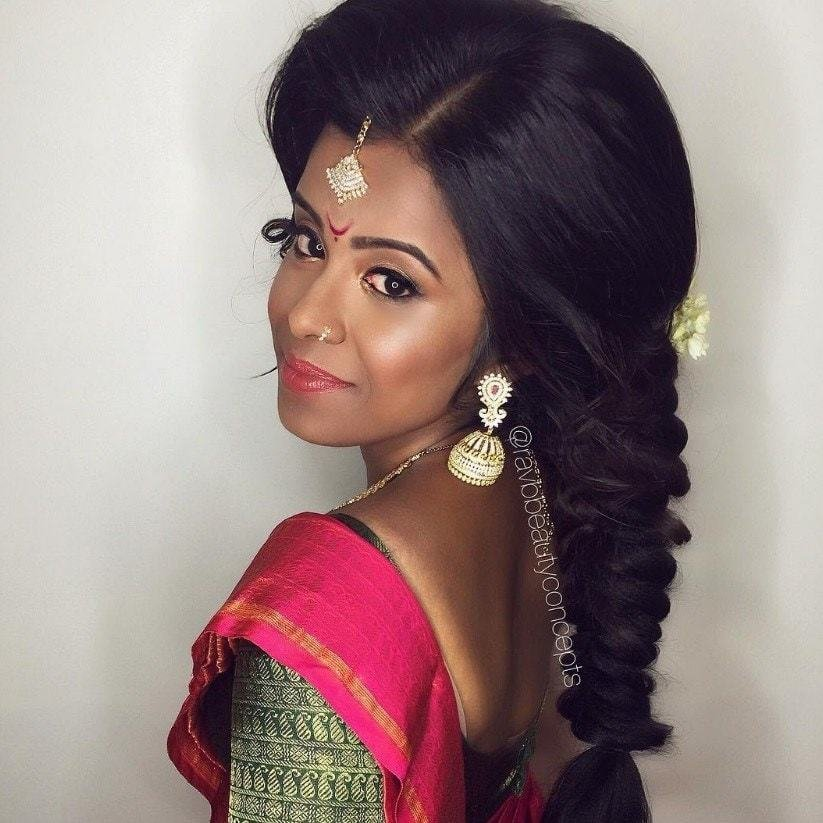 The Best 17 Of The Best Indian Wedding Hairstyles For Your Big Day Pictures