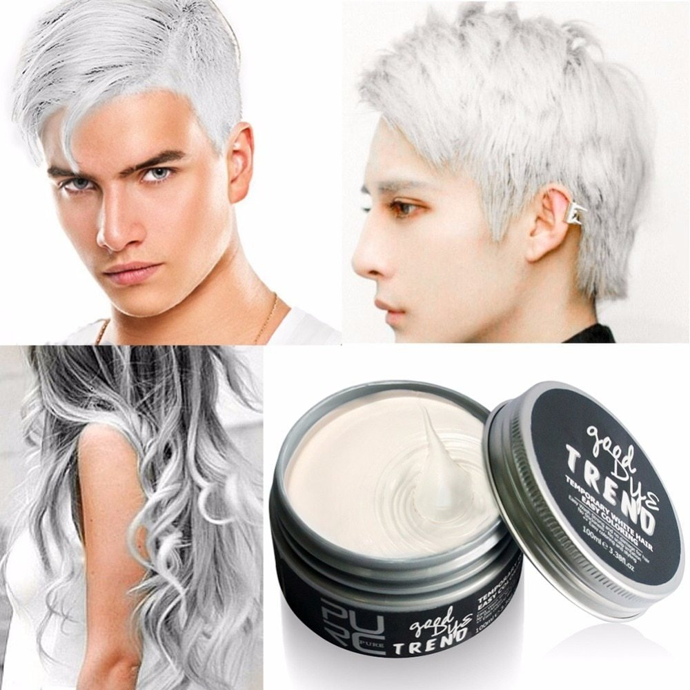 The Best Top Quality Color Hair Dye Disposable Hair Wax White Pictures
