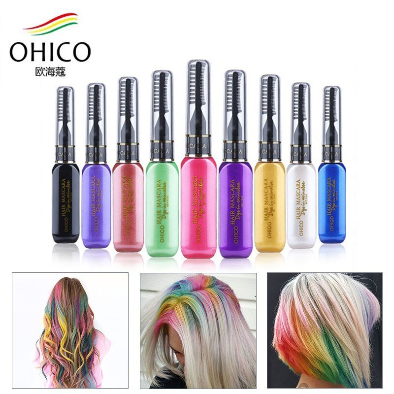 The Best Mutlicolor Brand Hair Dye Color Diy Not Hurt Hair Easy To Pictures