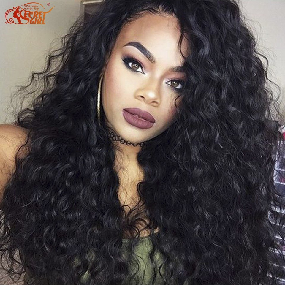 The Best Brazilian Curly Wavy Weave Spanish Wave V*Rg*N Hair 3 Pictures
