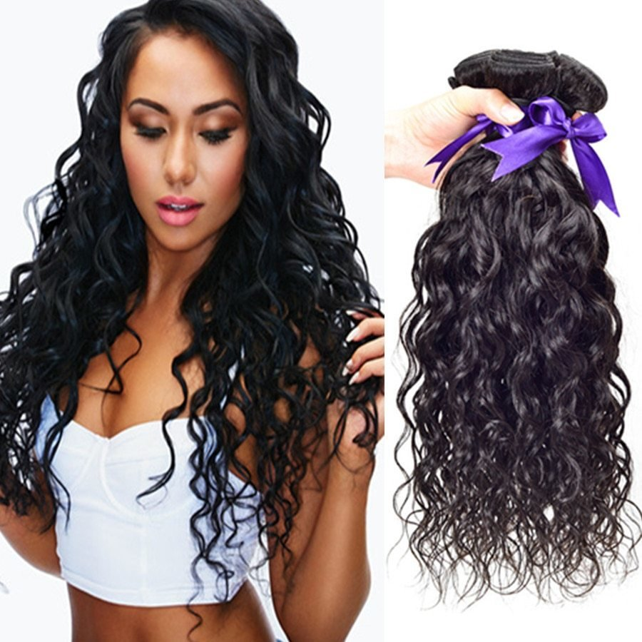 The Best Aliexpress Com Buy Brazilian V*Rg*N Hair Water Wave 4 Pictures