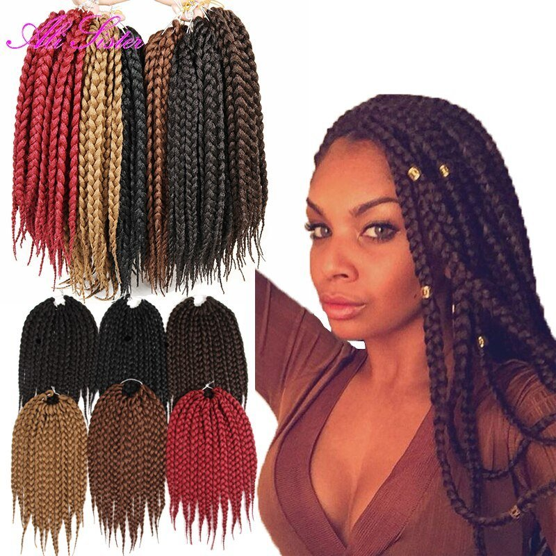 The Best Natural Color Box Braids Hair Expression Braiding Hair Pictures