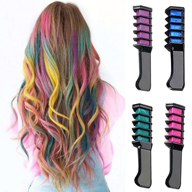 The Best Aliexpress Com Buy Hair Mascara 2017 New Design Crayons For Hair Color Chalk For The Hair Pictures