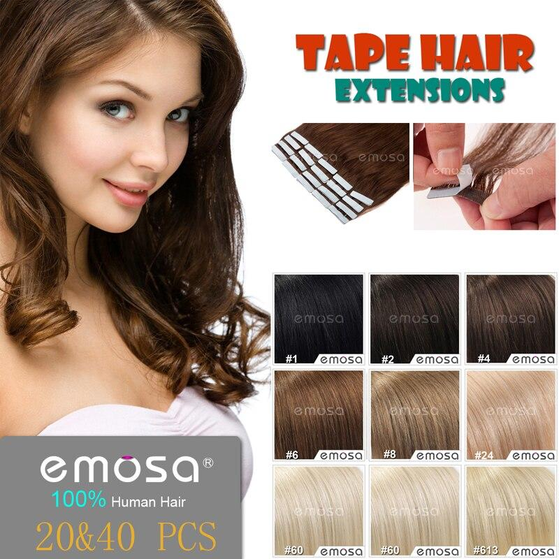The Best Emosa Tape Hair Extensions Adhesive Human Hair Extensions Pictures