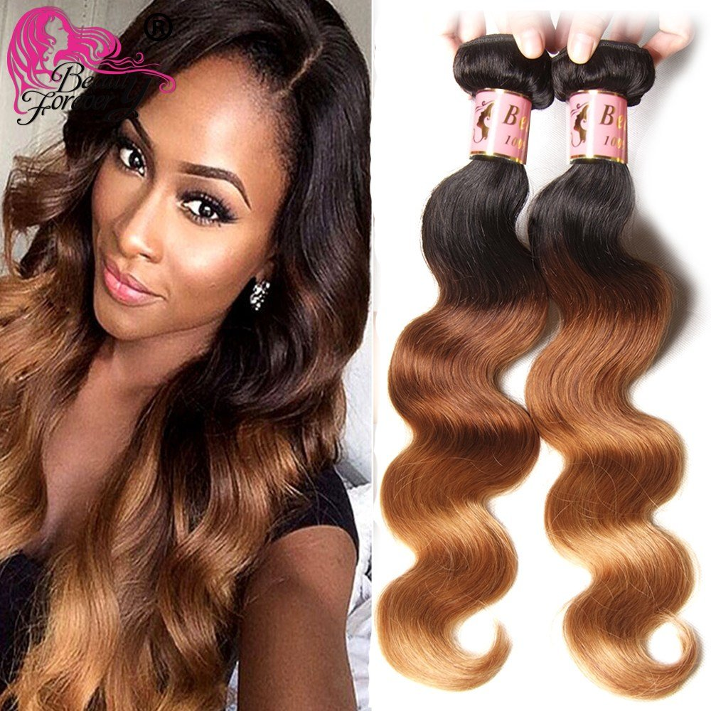 The Best Aliexpress Com Buy Ombre Human Hair Weave Malaysian V*Rg*N Hair Body Wave 3 Bundle Ombre Hair Pictures