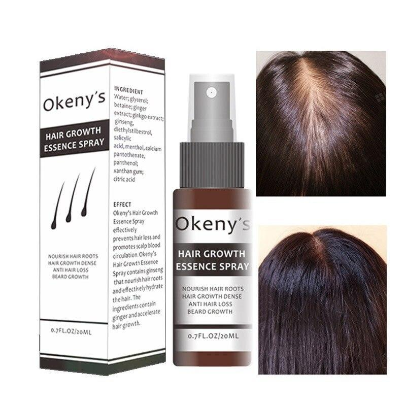 The Best Aliexpress Com Buy Okeny S Hair Growth Essence Spray Pictures