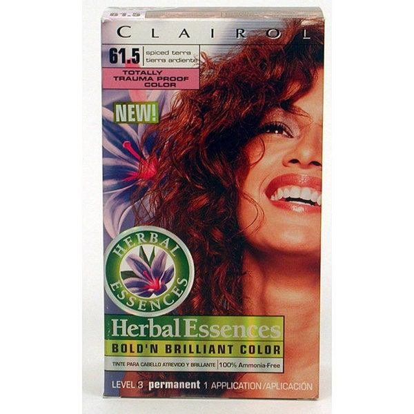 The Best Shop Clairol Herbal Essences Spiced Terra Hair Color Pack Pictures