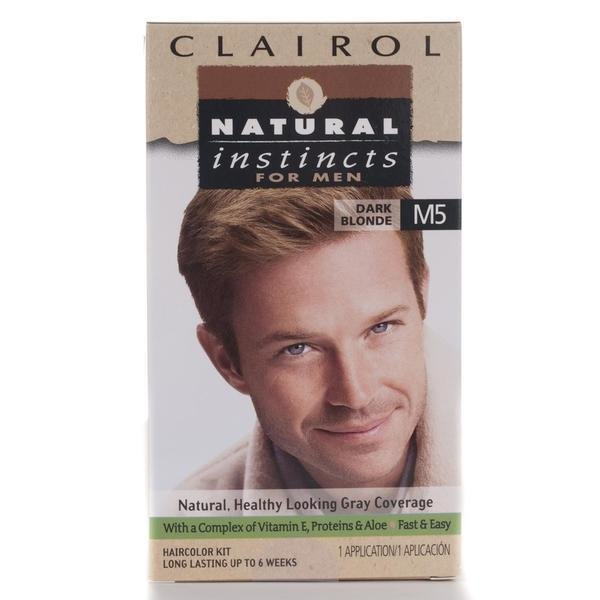 The Best Shop Clairol Natural Instincts Men S M5 Dark Blonde Hair Color Pack Of 4 Free Shipping On Pictures