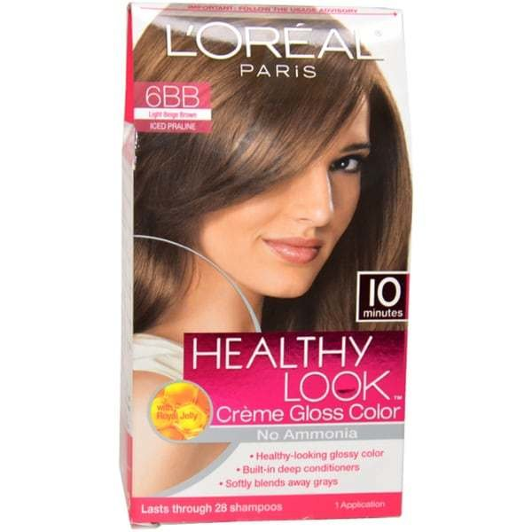 The Best Shop L Oreal Healthy Look Creme Gloss Color 6Bb Light Pictures