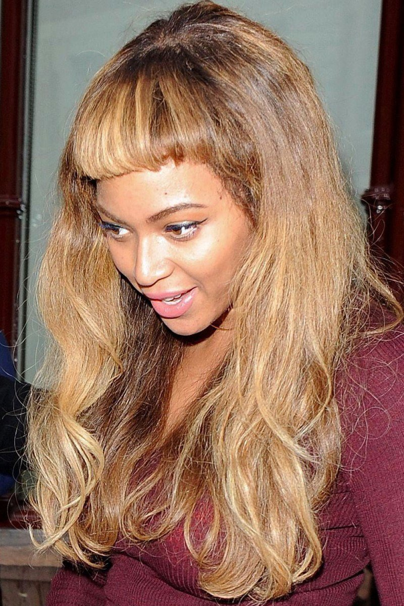 The Best Beyoncé Got Short Bangs And The World Is Freaking Out Pictures