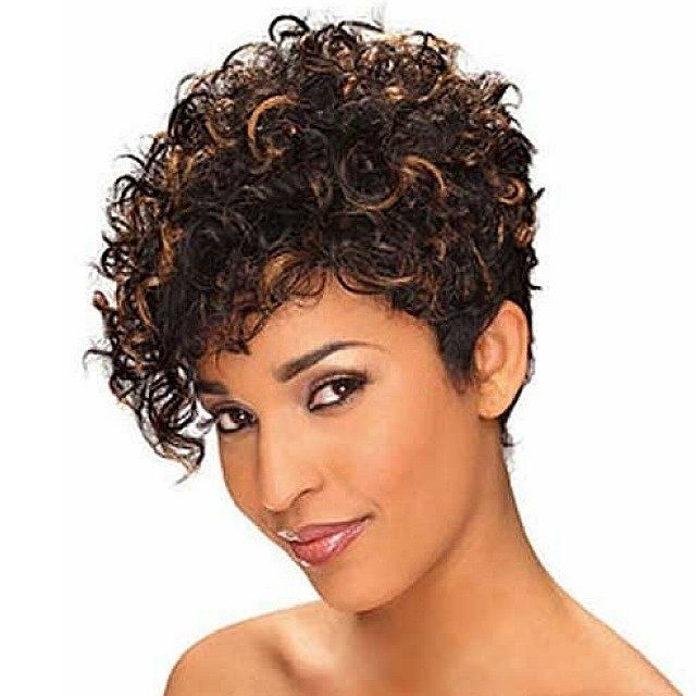 The Best Short Natural Curly Hairstyles For Black Women 2018 2019 Pictures