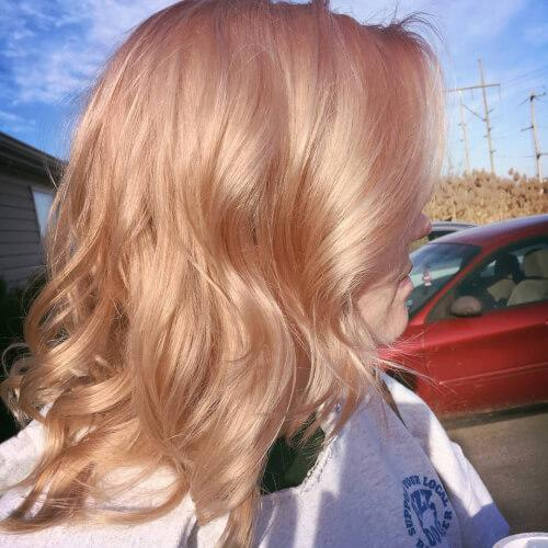 The Best 71 Alluring Rose Gold Hair Color Ideas To Try In 2019 Pictures