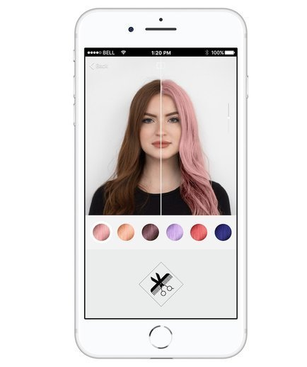 The Best This App Lets You Test Drive Trendy Hair Colors Real Simple Pictures