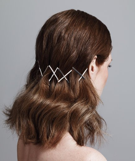 The Best Bobby Pin Hairstyles Real Simple Pictures