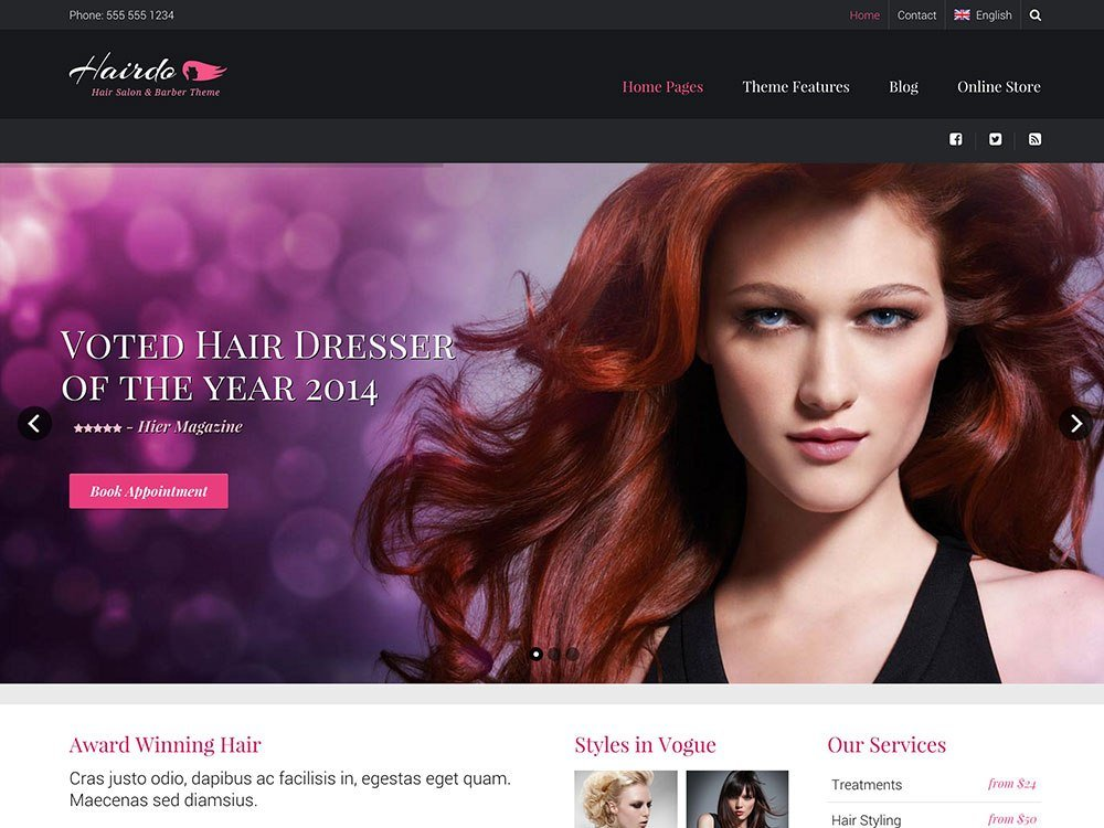 The Best 40 Best Spa Beauty Hair Salon Wordpress Themes 2018 Pictures