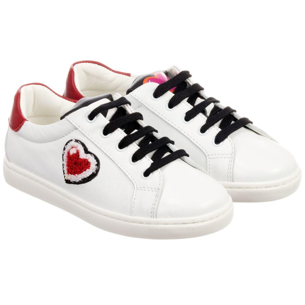 The Best Dolce Gabbana Girls Trainers With Red Hearts Pictures
