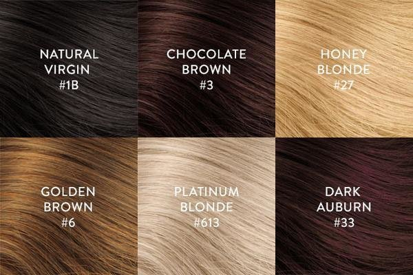 The Best Hair Extension Color Chart Perfect Locks Pictures