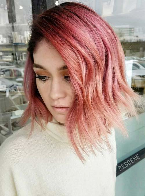 The Best 67 Pretty Peach Hair Color Ideas How To Dye Your Hair Pictures