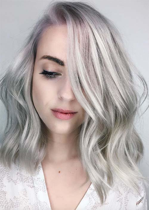The Best Silver Hair Trend 51 Cool Grey Hair Colors Tips For Pictures
