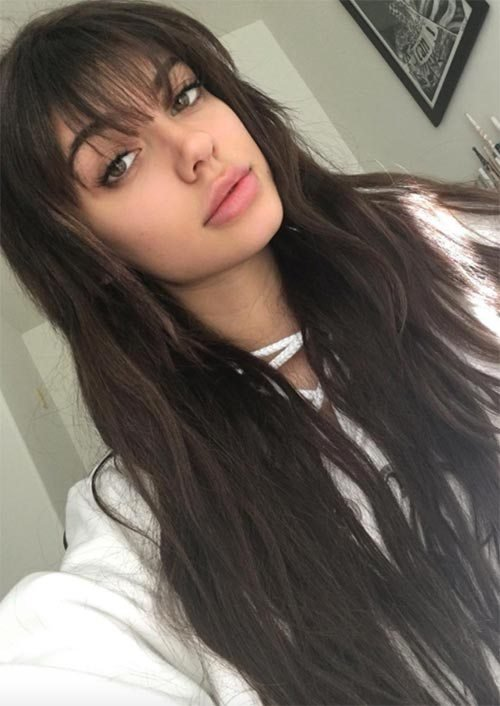 The Best 55 Long Haircuts With Bangs For 2019 Tips For Wearing Pictures