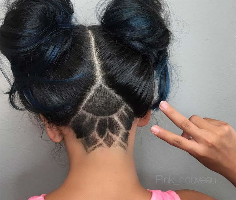 The Best 51 Long Undercut Hairstyles For Women In 2019 Diy Pictures