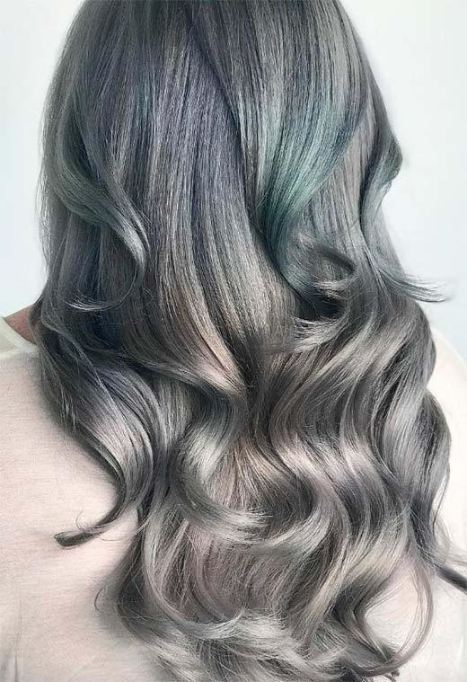 The Best Mother Of Pearl Hair Trend 53 Iridescent Pearl Hair Pictures