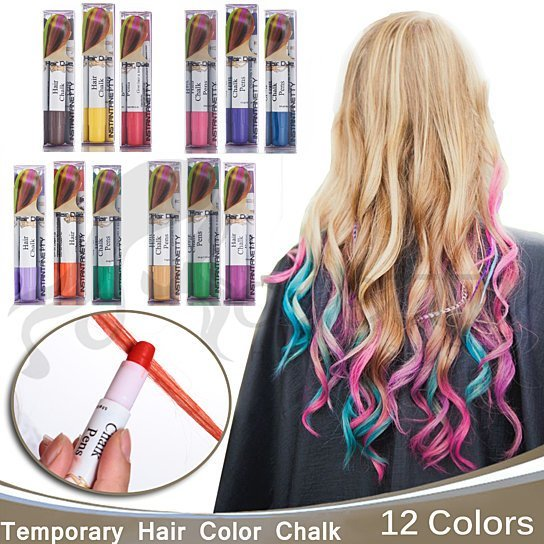 The Best Buy Joyous Professional Waxy Hair Chalk Pens Hair Chalk Pictures