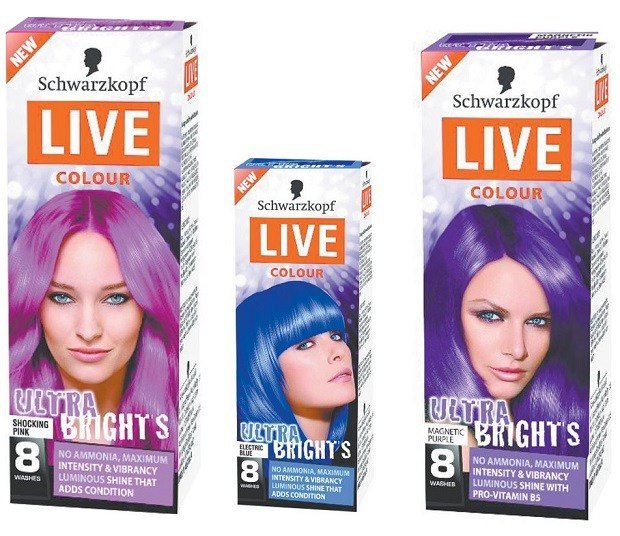 The Best Temporary Hair Color Products For Rainbow Hued Pictures