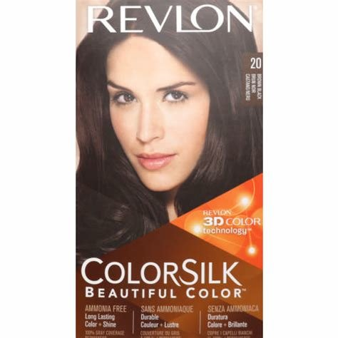 The Best Revlon Colorsilk Permanent Colour Brown Black 20 Clicks Pictures